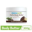 CoCo Body Butter for Dry Skin, with Coffee & Cocoa for Deep Moisturization- 200g