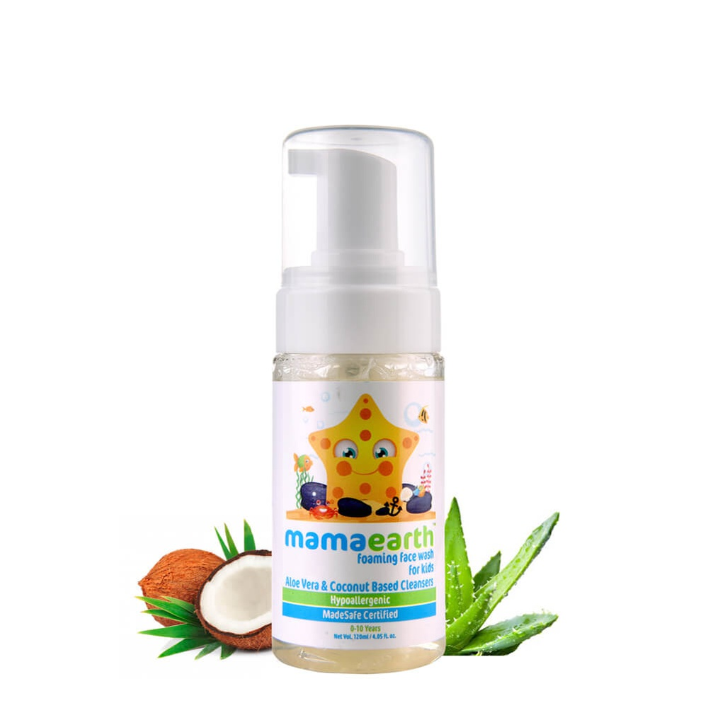 Foaming Facewash for Kids, 120ml