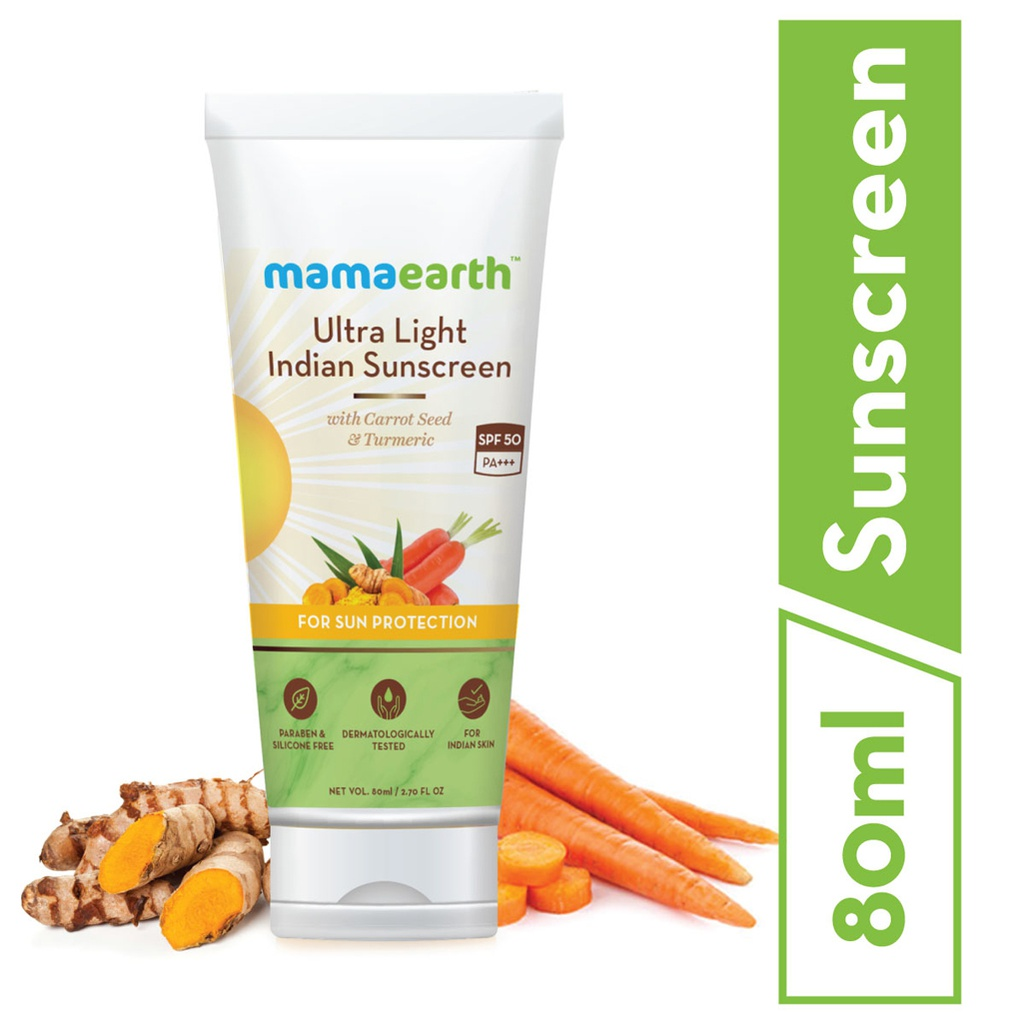Ultra Light Indian Sunscreen SPF50 PA+++, 80ml