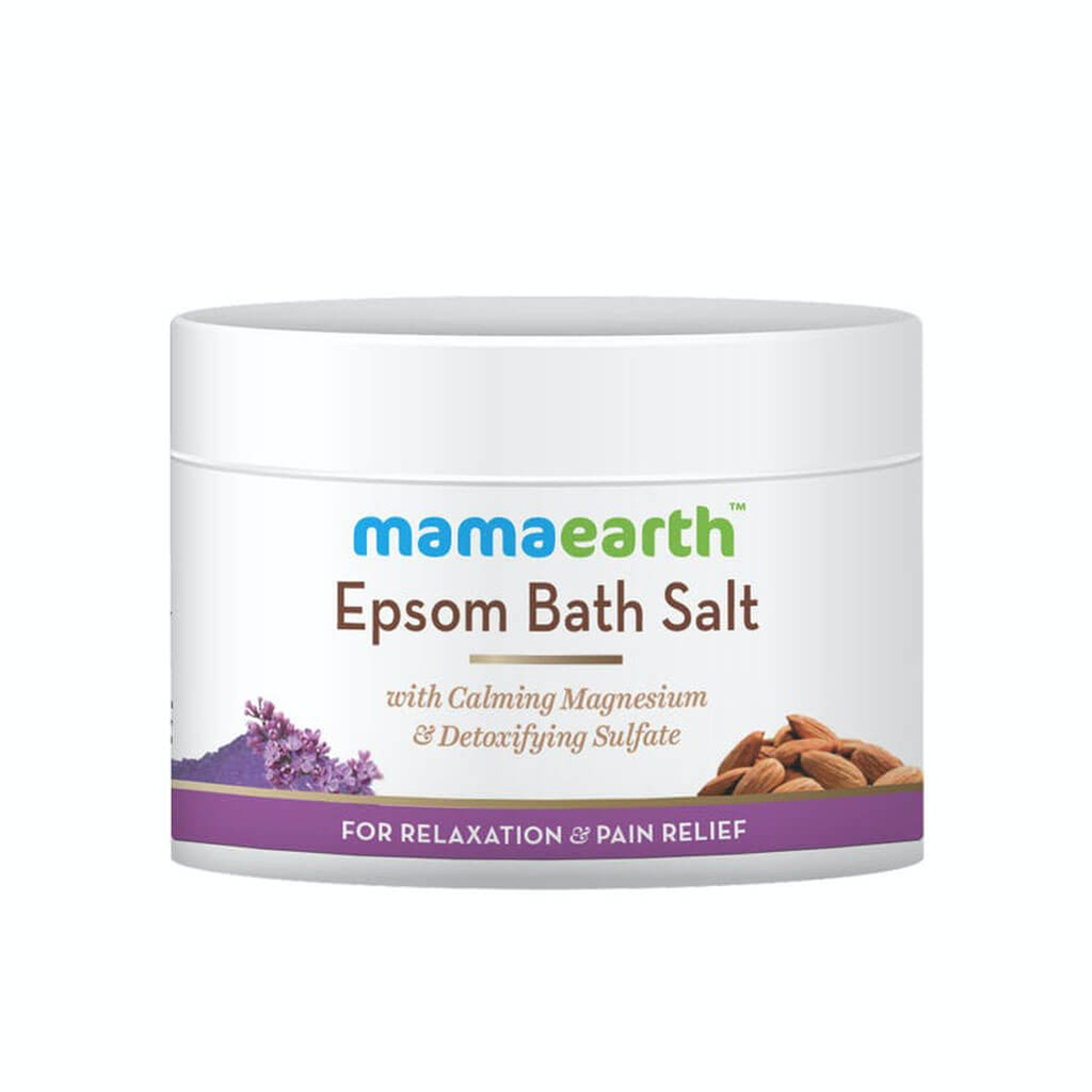 Mamaearth Epsom Bath Salt for Relaxation and Pain Relief - 200 gm