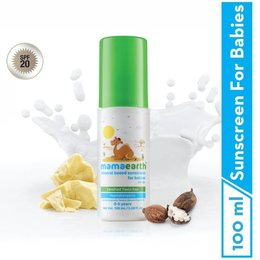 Mineral Based Sunscreen 100ml