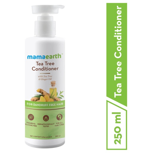 Tea Tree Conditioner with Tea Tree & Ginger Oil for Dandruff Free Hair 250ml